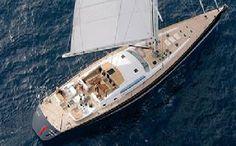 Sailing Yacht Grande Bleu Vintage 95 ft Rate: €38,000.00 – €45,000.00 weekly Summer Location: W. Med- Naples/Sicily, W.Med- Riviera / Corsica / Sardinia, Greece, Turkey, Croatia Winter Location: N/A