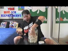 Hot Ice Experiment Goes Terribly Wrong (Ft. L.A. BEAST) - YouTube