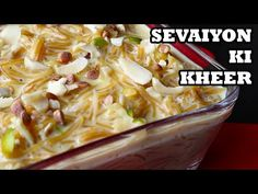 Seviyan ki kheer recipe in hindi l Cooking with Benazir – Hot Videos How To Make Mayonnaise, Kheer Recipe, Panko Bread, Fast Easy Meals, How To Make Pizza, Cooking Oil, Garam Masala, Kitchen Items, New Recipes