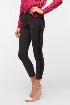 $75 Cheap Monday Ankle Stretch Jean - Tuxedo Stripe  #UrbanOutfitters