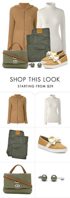 """""""Untitled #1508"""" by gallant81 ❤ liked on Polyvore featuring Manzoni 24, Lands' End, Tom Ford, Michael Kors and Zanellato"""