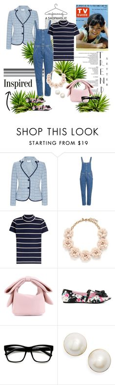 """""""INSPIRED: 50's GIDGET......NO NOT WIDGET, SHE'S GIDGET"""" by g-vah-styles ❤ liked on Polyvore featuring CC, MiH, Polo Ralph Lauren, J.Crew, Simone Rocha, Iron Fist, Retrò and Kate Spade"""