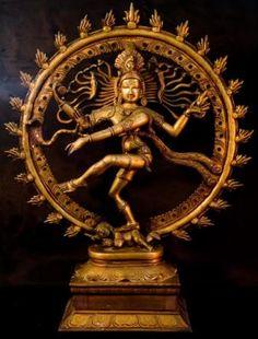 Shiva -- The Natraj; Yoga Sculptures of India