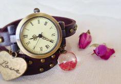 Reloj+pulsera+de+SmallWhims+por+DaWanda.com