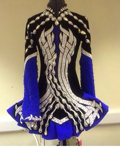Blue Celtic Star. I wish this could be my next dress!