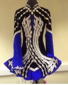 Celtic Star 2014 Irish Dance Solo Dress Costume Irish Step Dancing, Irish Dance, Dance Outfits, Dance Dresses, Celtic Dress, Ballroom Dress, Embellished Dress, Dance Costumes, Dream Dress