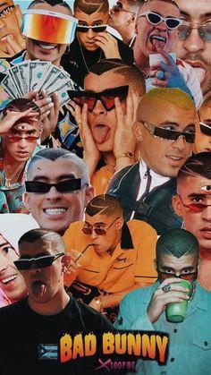 Rapper Wallpaper Iphone, Rap Wallpaper, Bunny Art, Cute Bunny, Aesthetic Pastel Wallpaper, Aesthetic Wallpapers, Bunny Tumblr, Third Eye, Bad Oldesloe