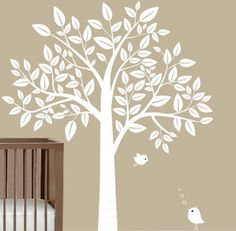 Tree with Birds – Childrens Wall Decal