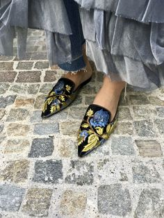 Mules are a great transition shoe for fall. They offer the look of a closed shoe but are also a nice breathable option for those unexpected hot September days