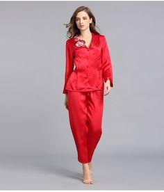 silk robes bridesmaid silk robes real silk pajamas    https://www.snowbedding.com/