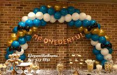 Mr. Wonderful balloon arch - Mr Onderful