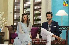 Pakistani celebs, Mahira khan & Adnan Malik