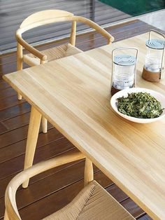 Table and chairs DSW