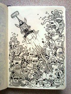 doodle art - Cerca con Google