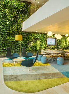 living wall in unilever office - Google Search