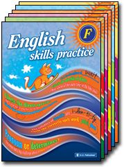 English Skills Practice. he aim of the series is to provide comprehensive and structured daily practice of already-taught literacy and language skills in spelling, word study, punctuation and grammar in order to consolidate and develop a student's ability and confidence to use English. Australian Curriculum English linked. Download your 2 week trial booklet here.