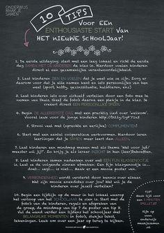 10 tips voor een enthousiaste start van het nieuwe schooljaar!