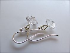 small crystal earrings