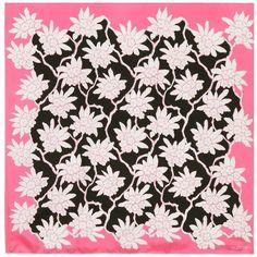 Valentino Printed Silk Scarf (26.960 RUB) via Polyvore featuring accessories, scarves, multicoloured, silk scarves, colorful shawls, colorful scarves, multi colored scarves и valentino scarves