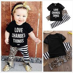 2016 Summer Baby Boy Clothes Cotton Letter Shirts + Striped Pants 2 Pcs Sets For Toddler Baby Outfits Newborn Clothing Sets