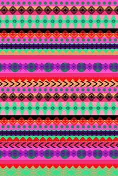 'Tribal Stripe' amy sia art print