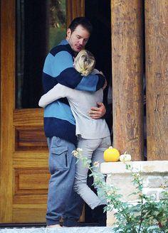 Chris Pratt and Anna Faris out in Georgia.