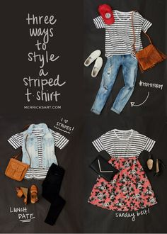 Merrick's Art // Style + Sewing for the Everyday Girl: 3 ESSENTIAL TEES + 9 WAYS TO STYLE THEM