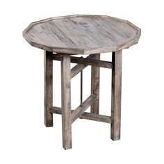 Utilizing the sleek look of a Dutch farmhouse, this rustic modern side table is fashioned of exotic, smoky mango wood. Place in a living room with light colors and natural accents for a soft, organic f...  Find the Mango Wood Farmhouse Side Table, as seen in the The Vintage Creamery  Collection at http://dotandbo.com/collections/the-vintage-creamery?utm_source=pinterest&utm_medium=organic&db_sku=104541