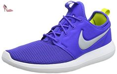 Nike Roshe Two, Chaussures de Running Compétition Homme, Bleu (Paramount Blau/ Wolf Grau/weiß /elektrolime), 46 EU - Chaussures nike (*Partner-Link)
