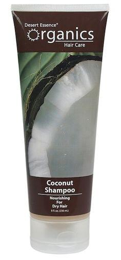 Desert Essence Coconut Shampoo for dry hair