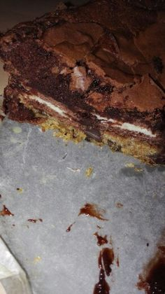 "Cookie dough, oreo, brownie ""cake"""