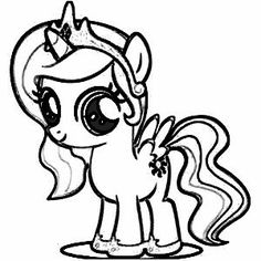 rainbow dash as a filly coloring pages | 29 best mlp coloring pages images on Pinterest | Coloring ...