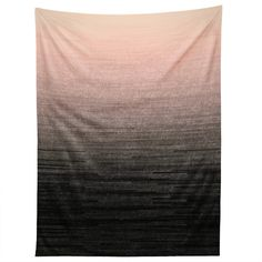Iveta Abolina Peach Blush Ombre Tapestry   DENY Designs Home Accessories