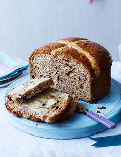 Hot cross bun loaf - Sainsbury's Magazine