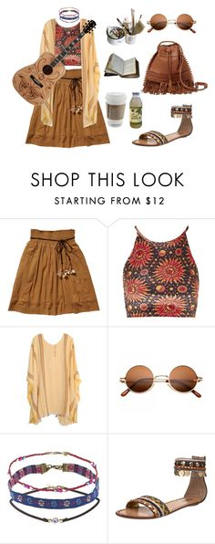 """highschool movie series:THE HIPPIE"" by twyzter ❤ liked on Polyvore featuring Scotch & Soda, Topshop, Jens Pirate Booty, Killah and Mason's"