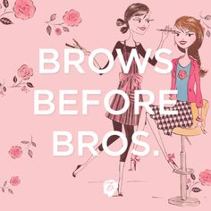 'Cause a lady has to have priorities ;) #benefitbeauty