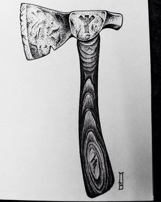 "49 Likes, 6 Comments - Marcin Brzezinski (@stronghold.tattoo) on Instagram: ""Project available  #axe #hatchet #algiz #protection #pagan #pagans #rune #runes #ink #drawing…"""
