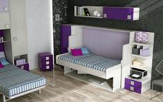 MUEBLE CAMA MESA CON ESCRITORIO (De Muebles Parchis. Dormitorios Juveniles. )