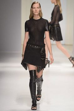 MILAN SPRING 2013 RUNWAY : SALVATORE FERRAGAMO who knows leather better than…..