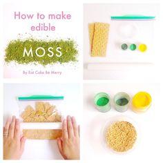 how to make edible moss