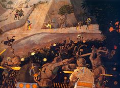 Paolo Uccello, Bataille de San Romano, Londres, National Gallery