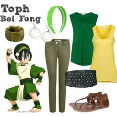 how to make a toph bei fong costume