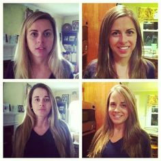 Before and after sisters lol