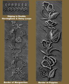 Iva Rose Vintage - Reproducciones de Weldon 2D # 69 c.1890 - Práctico Mountmellick Bordado (cuarta serie)