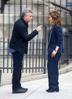 """Jennifer Lopez and Ray Liotta were spotted filming some intense scenes for """"Shades Of Blue"""" in NYC."""