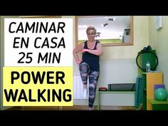 CAMINAR EN CASA PARA PERDER PESO🔥25 MINUTOS - YouTube Power Walking, Health And Fitness Articles, Health Fitness, Zumba, Pilates, Cardio, Hobbies, Youtube, Exercise