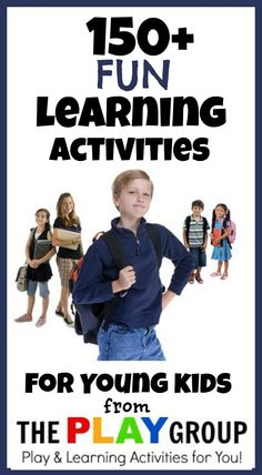 Over 150 Early Learning Activities for Kids- Art, Science, Math, Literacy, FUN!