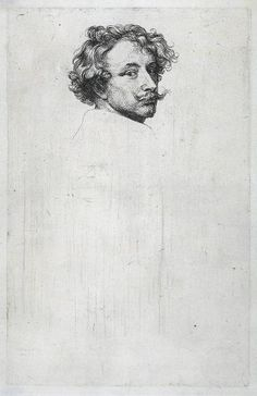 VAN DYCK Sir Antoon van Dyck - Flemish (Antwerpen 1599 – Londen 1641) - self portrait