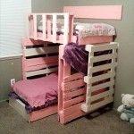 DIY Pallet Kids Bed | Pallets Designs