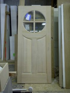 Arched Front Dutch Doors With Glass Arched Top Wood